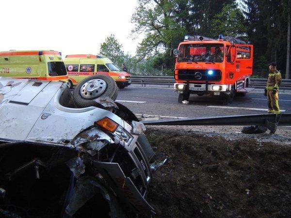 Prometna nesreča v Celju