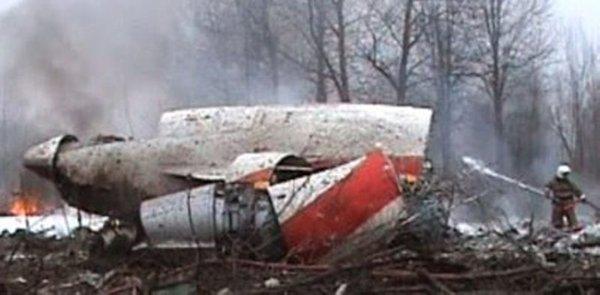 Nesreča poljskega predsedniškega letala