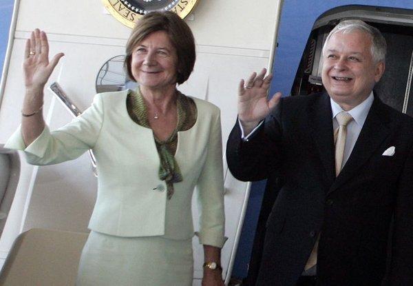 Poljski predsedniški par