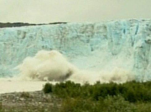 Surfanje pod ledenikom
