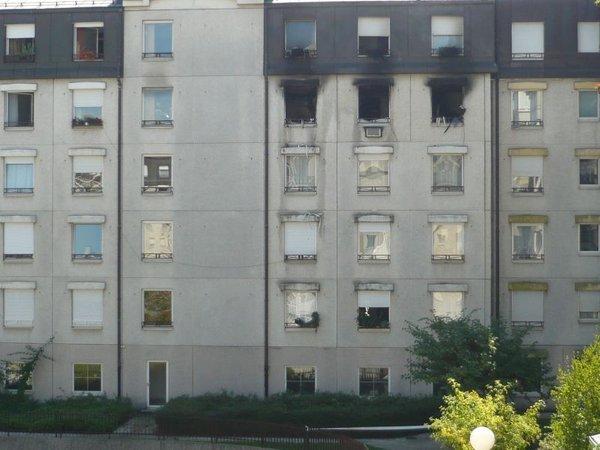 Požar v stanovanju
