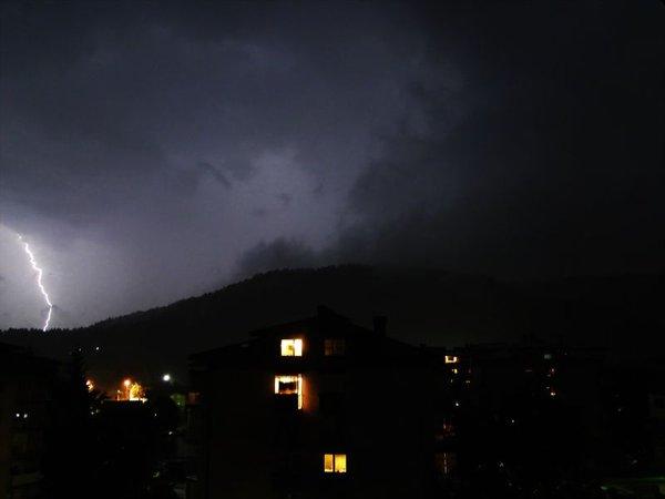 Nevihta v Litiji