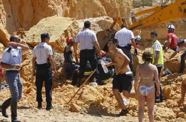 Nesreča na portugalski obali