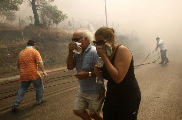 Požari v Grčiji-6
