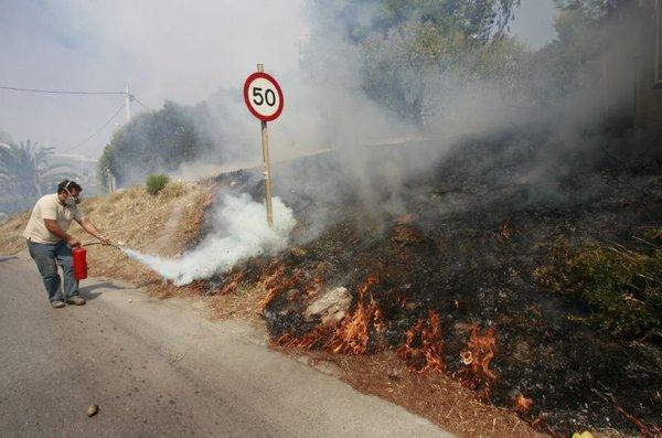 Požari v Grčiji-2