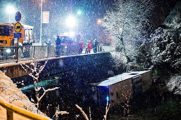 nesreča v Kamniku