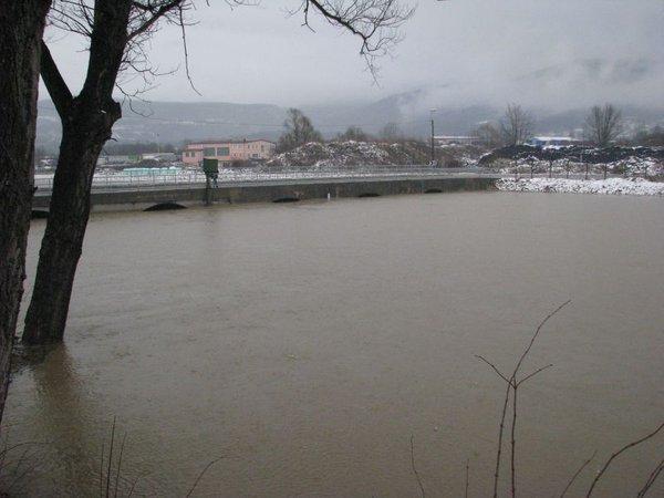 Poplave v Ilirski Bistrici