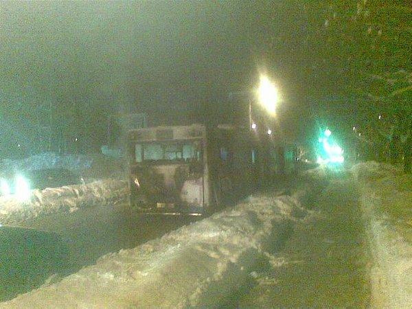 Pogorel avtobus mestnega prometa