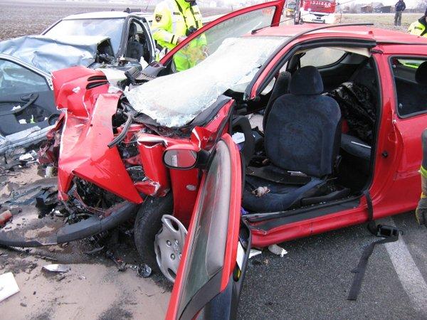 Nesreča na cesti Kranj - Naklo - 1