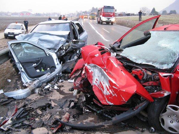 Nesreča na cesti Kranj - Naklo - 3