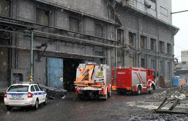 Delovna nesreča v Rušah - 1