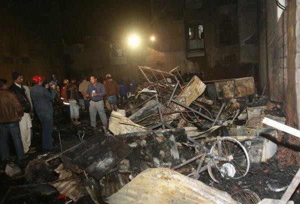 Po požaru v Karačiju
