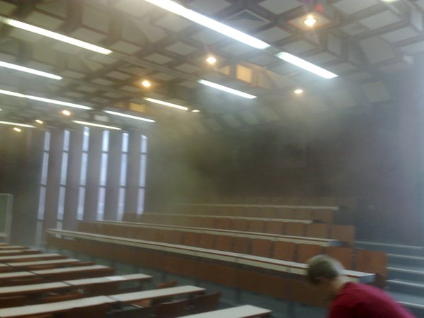 Požar na mariborski fakulteti