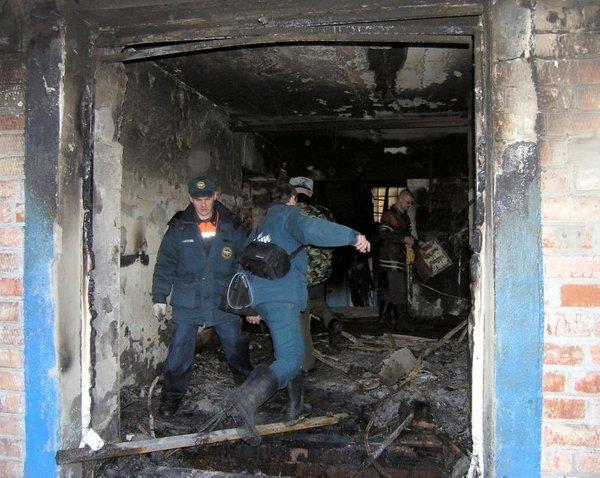 Požar v domu za ostarele