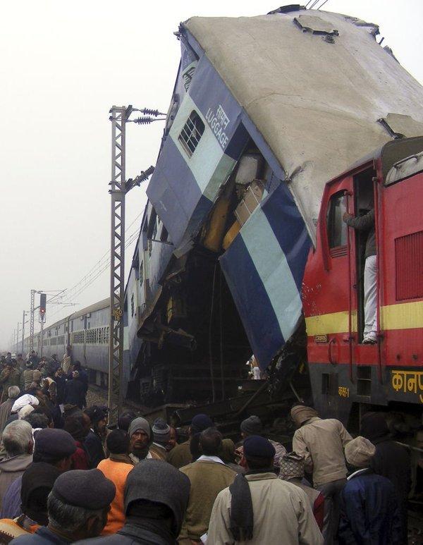 Nesreča v Indiji-1