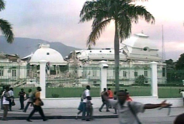 Predsedniška palača na Haitiju
