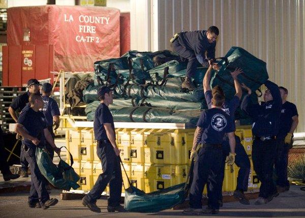Ameriški reševalci se pripravljajo na pot na Haiti