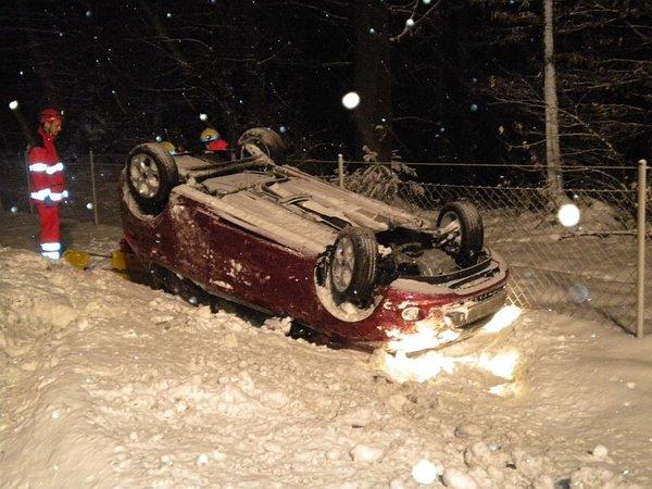 Prometna nesreča pri CP Vransko