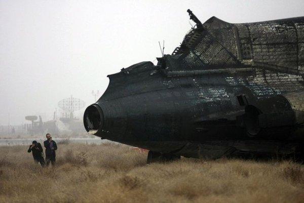 Zagorelo na iranskem letalu-5