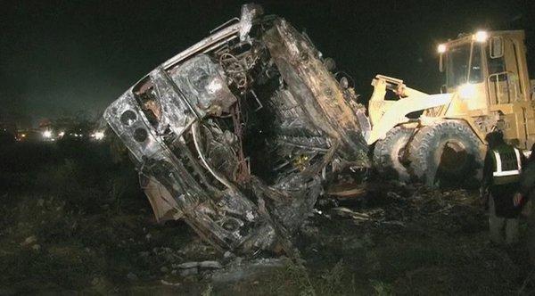 Nesreča avtobusa v Pakistanu