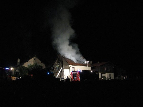 Požar v Medvodah - Goričane