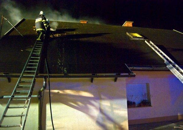 Požar na stanovanjskem objektu