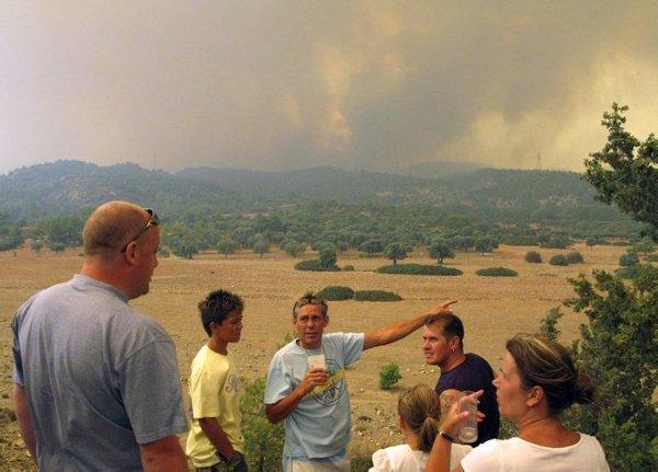 Požar na Rodosu