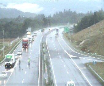 Preusmerjen promet na gorenjski avtocesti