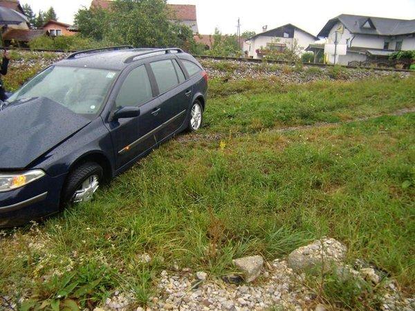 Prometna nesreča v Polzeli - 1