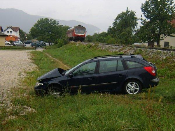 Prometna nesreča v Polzeli - 2