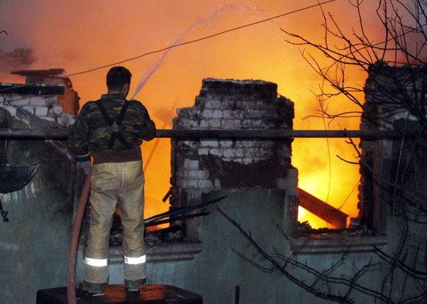 Požar v Rusiji
