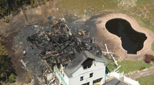 50 Cent - zgorela hiša