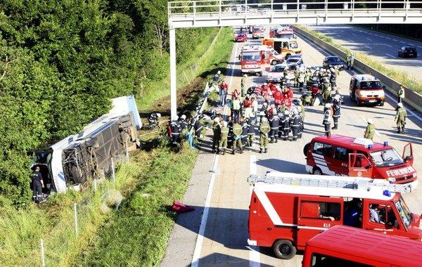 Nesreča v Avstriji