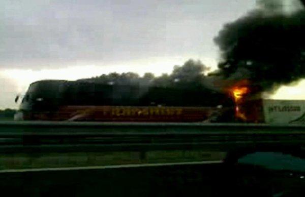Nesreča romunskega avtobusa