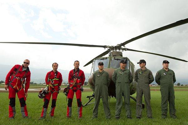 Reševalna vaja Slovenske vojske in Letalske policijske enote - 4