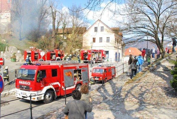 Požar v Kamniku-2