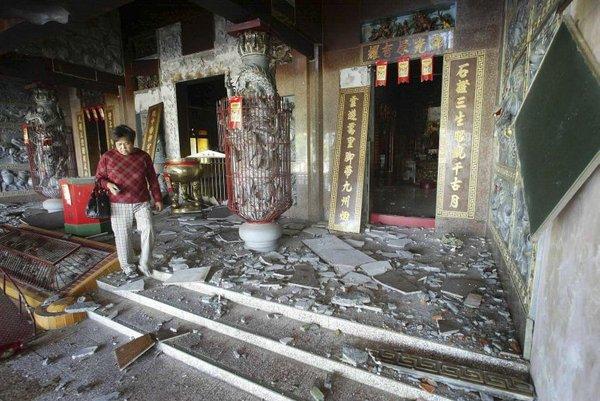 Potres na Tajvanu