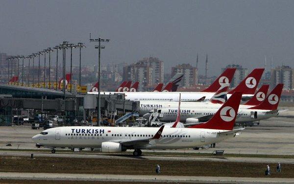 Letališče v Carigradu