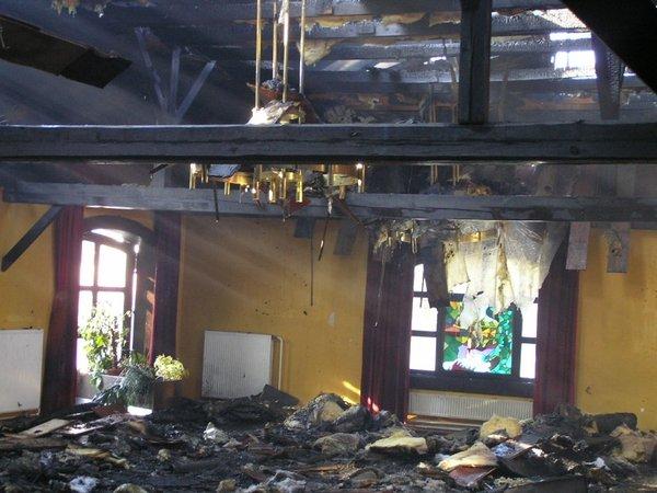 Požar v gostilni v Kostanjevici na Krki-1