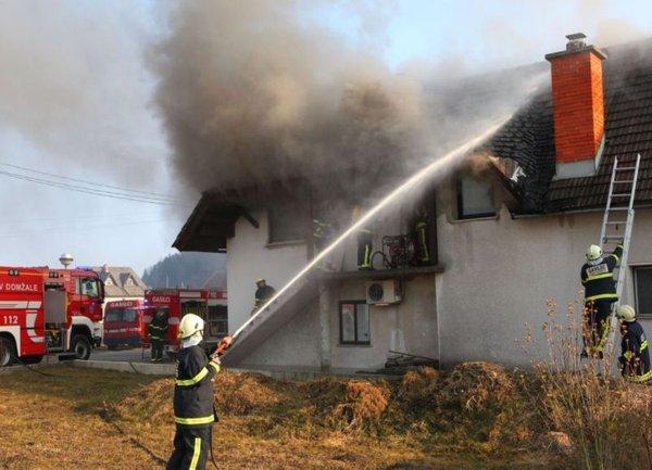 Požar pri Homcu - 1