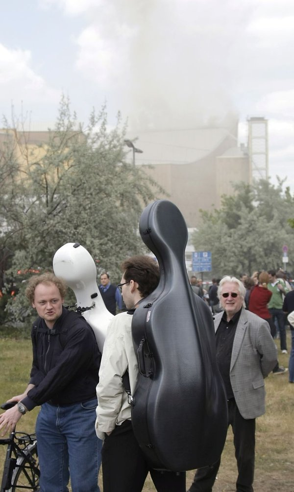 Požar v Berlinski filharmoniji