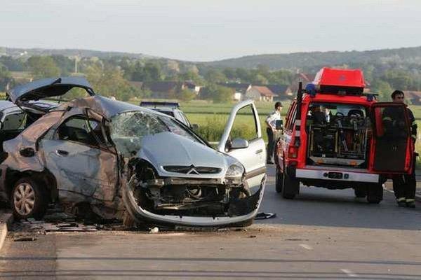 Prometna nesreča v Pomurju