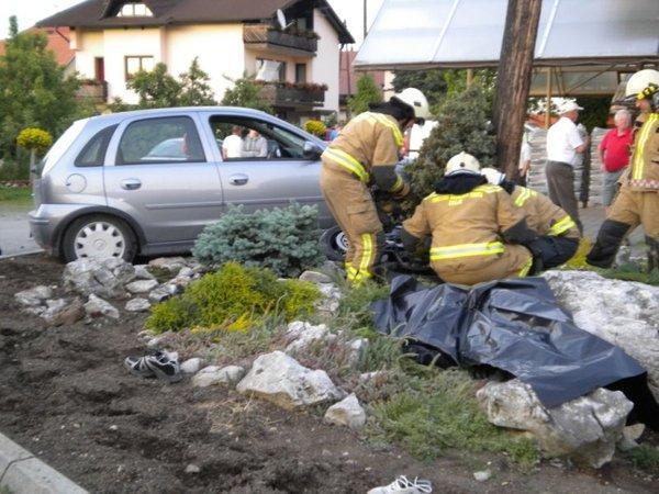 Prometna nesreča v Arclinu