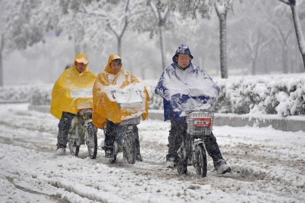 Sneg na Kitajskem
