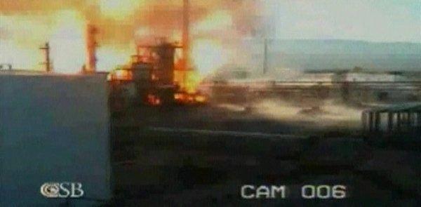 Eksplozija v rafineriji