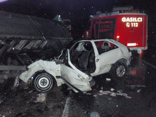 Nesreča pri Trbovljah