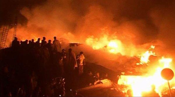 Nesreča tovornega letala v Karačiju