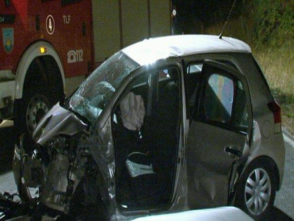 Prometna nesreča na izolski obvoznici-2