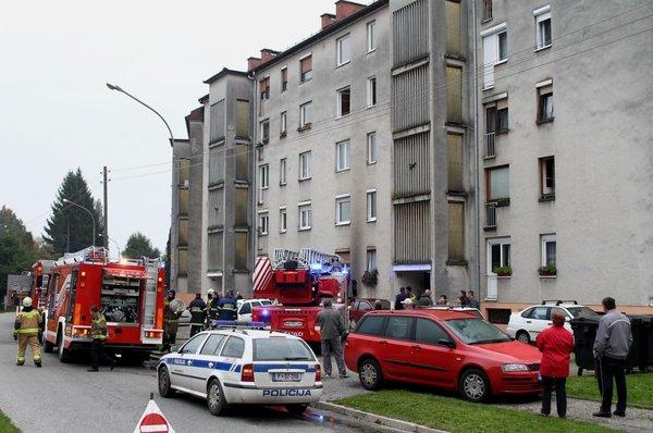 Požar v Mariboru