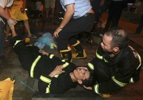 Požar v kitajskem klubu